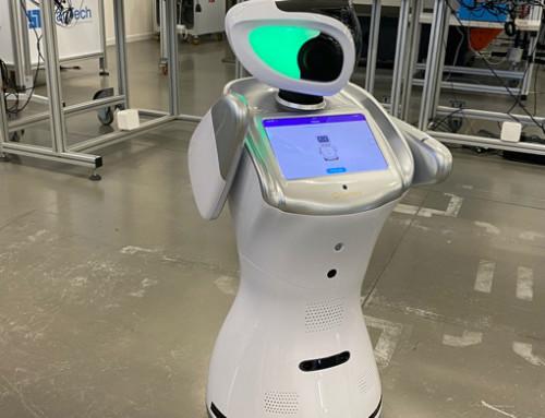 Nella fabbrica didattica vi accoglie il robot Leffy