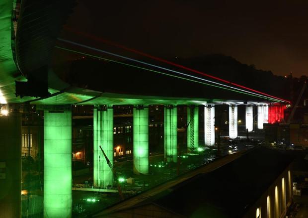 Il nuovo ponte Morandi di Genova
